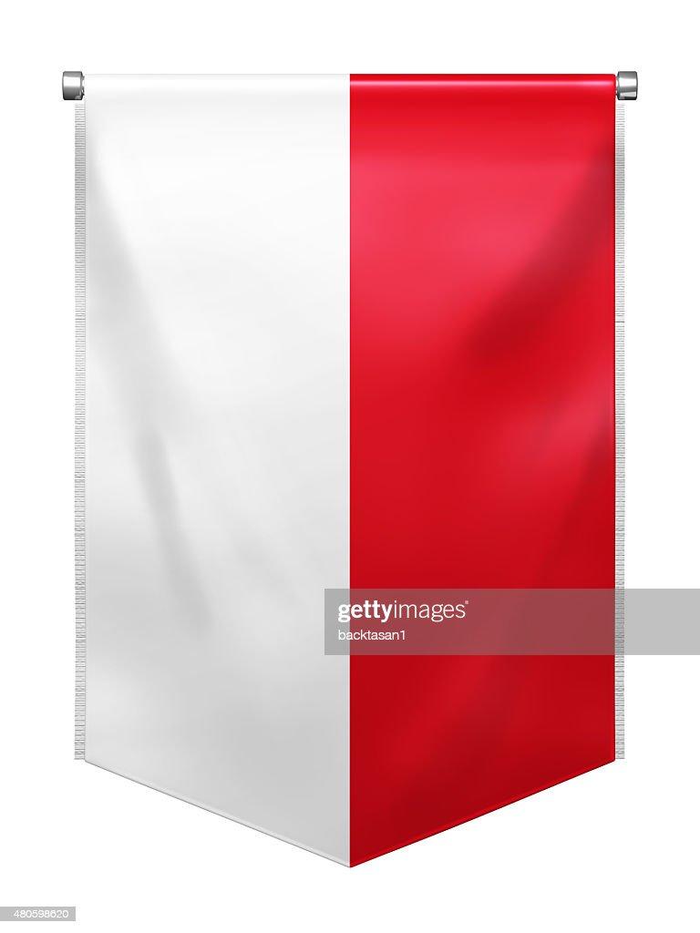 Flag of Indonesia : Stock Photo