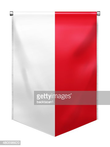 Flag of Indonesia : Stock Photo