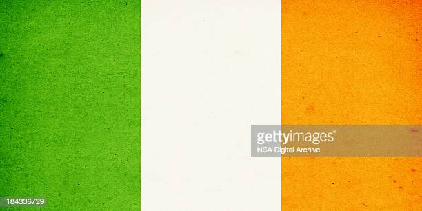 Flag of Ireland Close-Up (High Resolution Image)