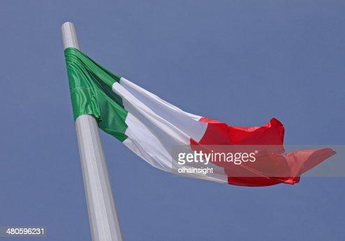 flag of Italy : Stock Photo
