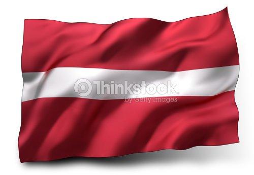 bandeira da letónia foto de stock thinkstock