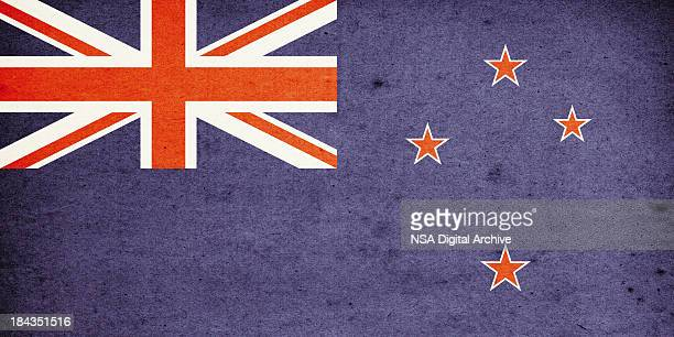 Flag of New Zealand Close-Up (High Resolution Image)