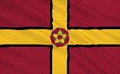 Flag of Northamptonshire is a county in the East Midlands of England, United Kingdom of Great Britain
