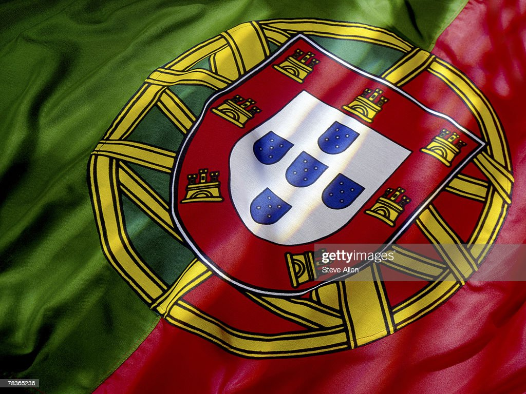 Flag of Portugal : Stock Photo