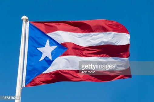 ImagesVideoプエルトリコ国旗 画像と写真