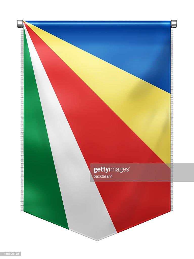 Flag of Seychelles : Stock Photo