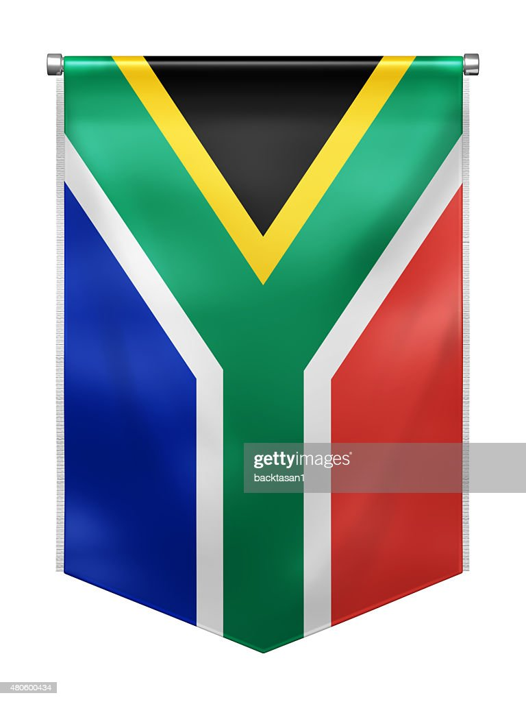 Flag of South Africa : Stock Photo