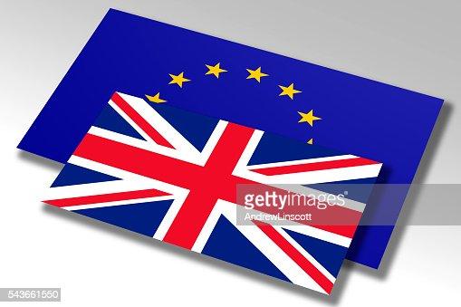 Flag of the European Union & UK