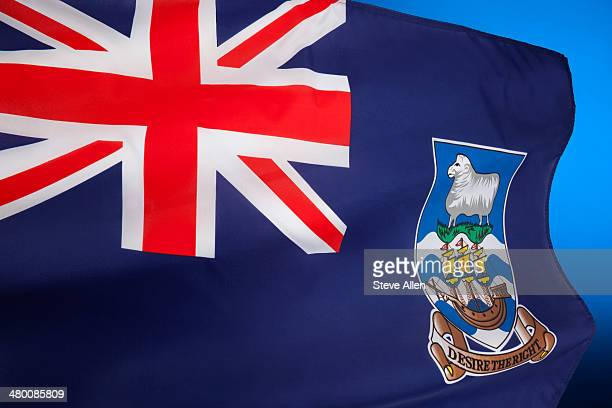 Flag of the Falkland Islands (Islas Malvinas)