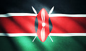 Flag of the Kenya