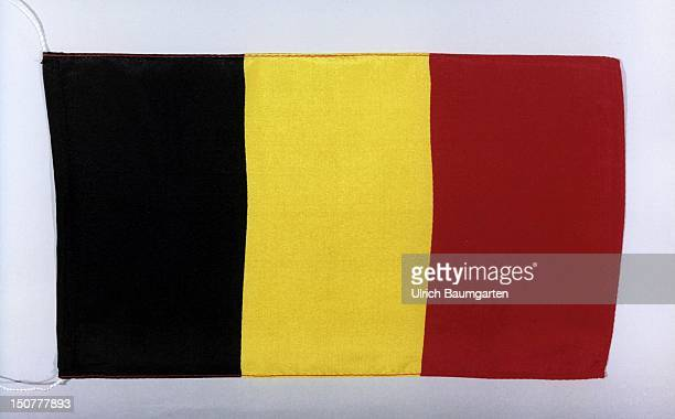 Flag of the kingdom Belgium