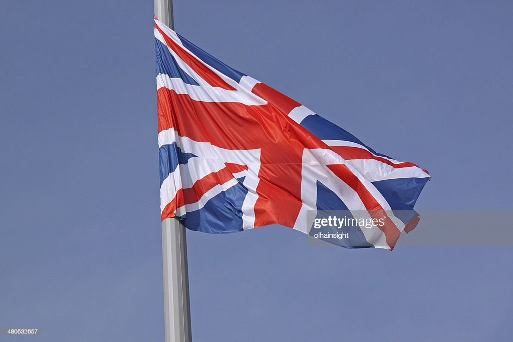 flag of United Kingdom : Stock Photo