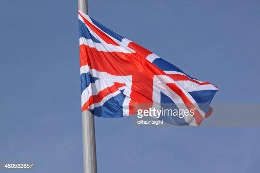 flag of United Kingdom : Stock Photo