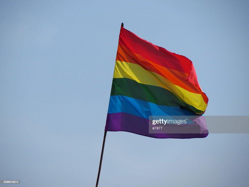 GLBT flag : Stock Photo