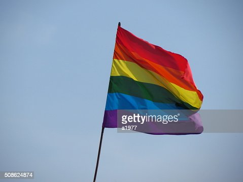 GLBT flag : Stock Photo