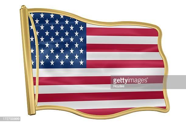 Flag Pin - USA