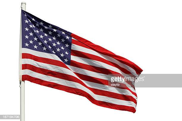 USA Flag with clipping path