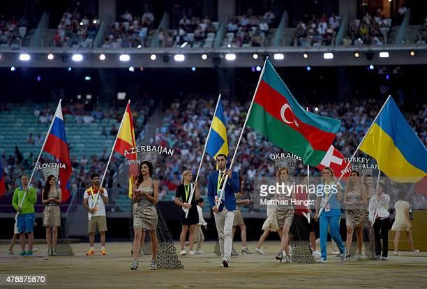 Azerbaijan Flag Bearer