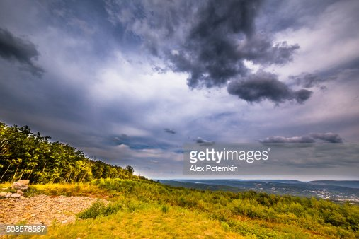 Flagstaff Mountain Park, Carbon County, Pennsylvania : Stock Photo