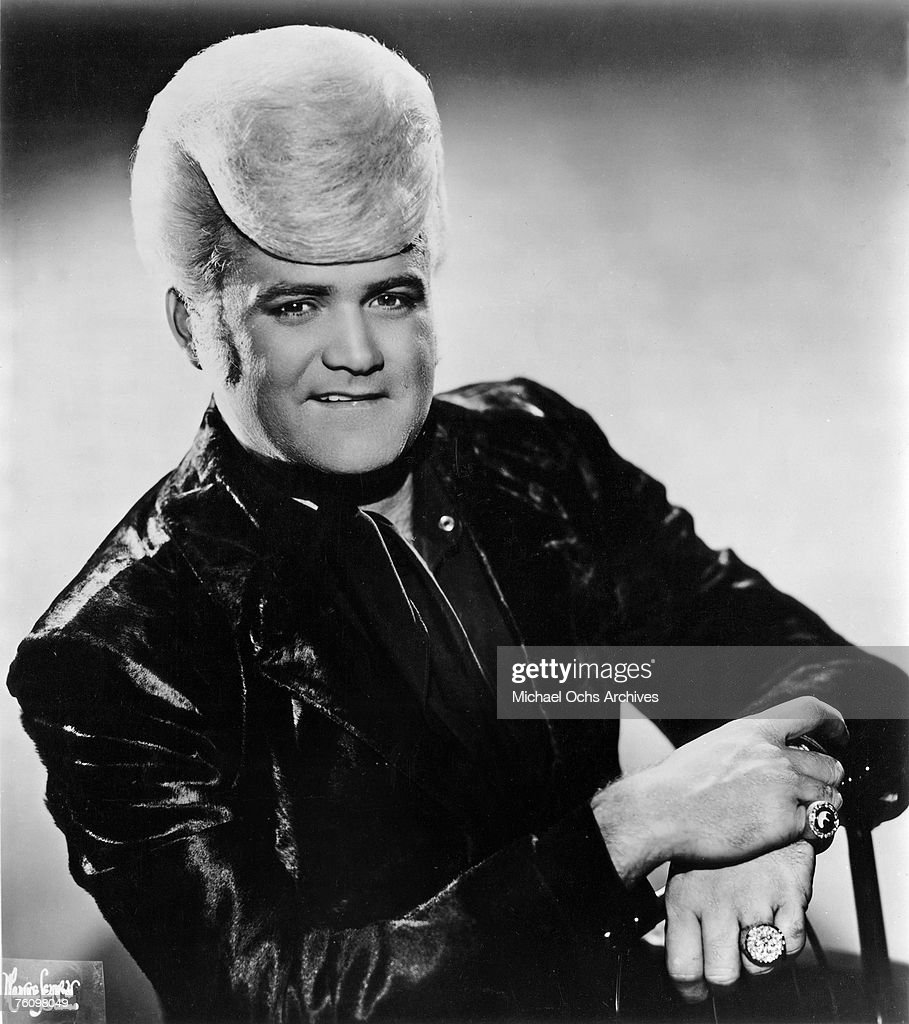 Flamboyant soul singer Wayne Cochran poses for a publicity shot circa the mid-1960s in Chicago Illinois.