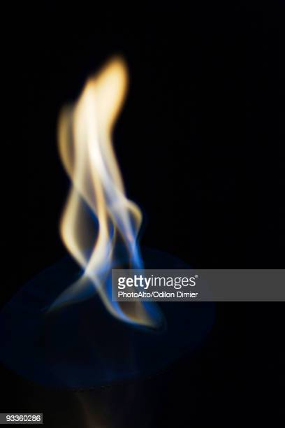 Flame, close-up