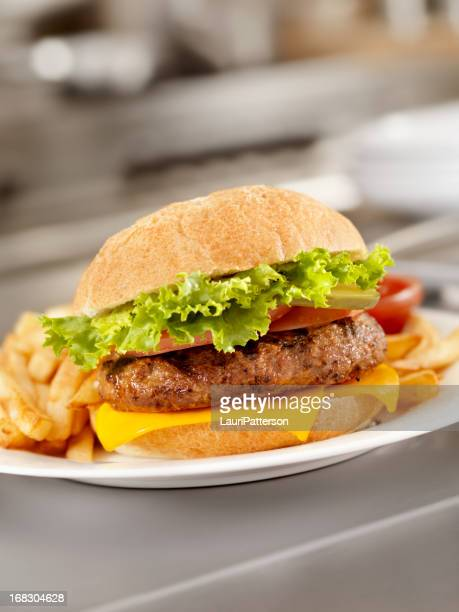 Flame Grilled Cheeseburger