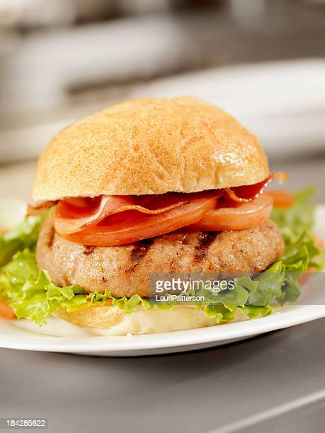 Flame Grilled Turkey Burger