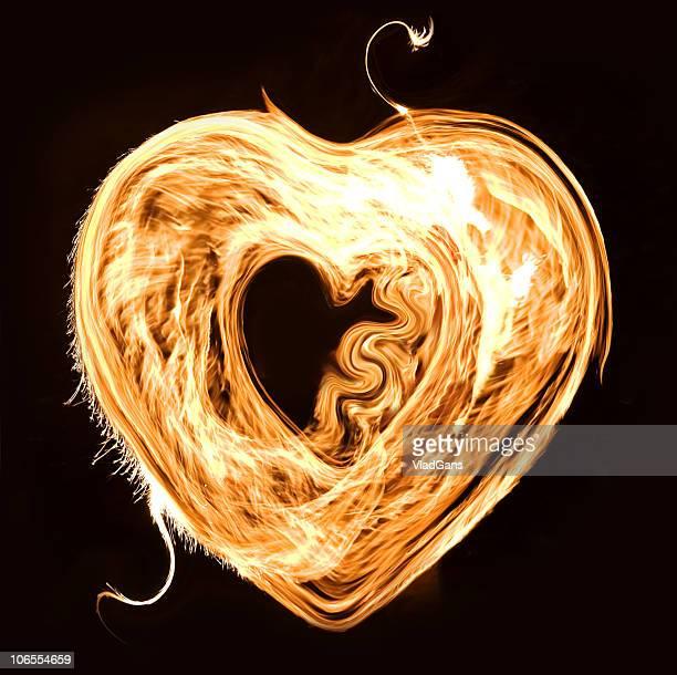 Flamme cœur