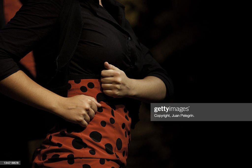 Flamenca dancer