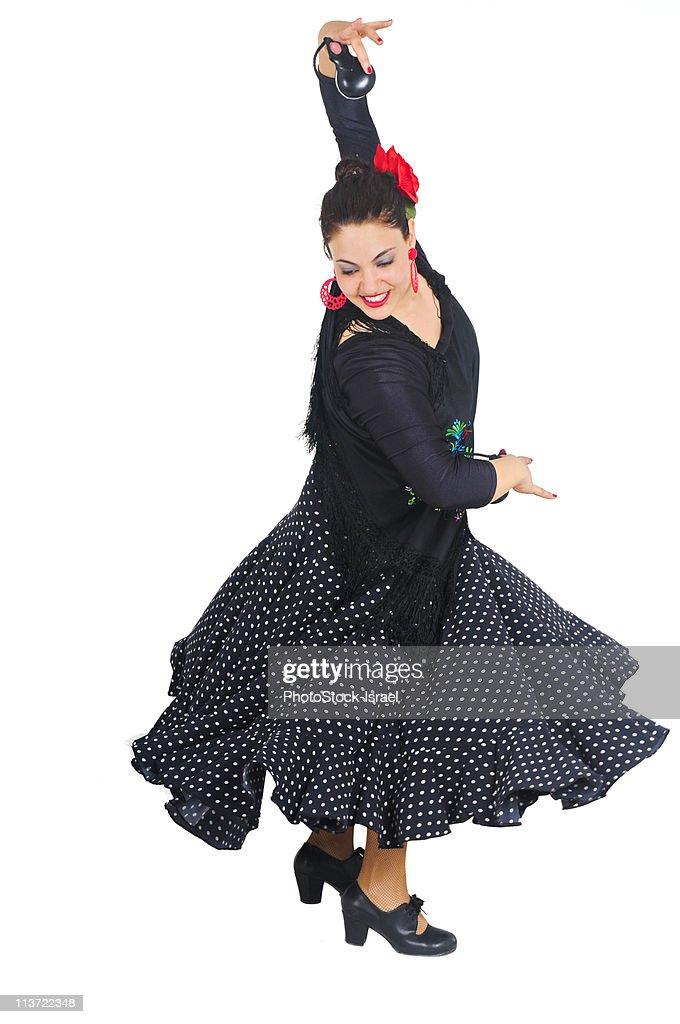 Flamenco dance : Stock Photo