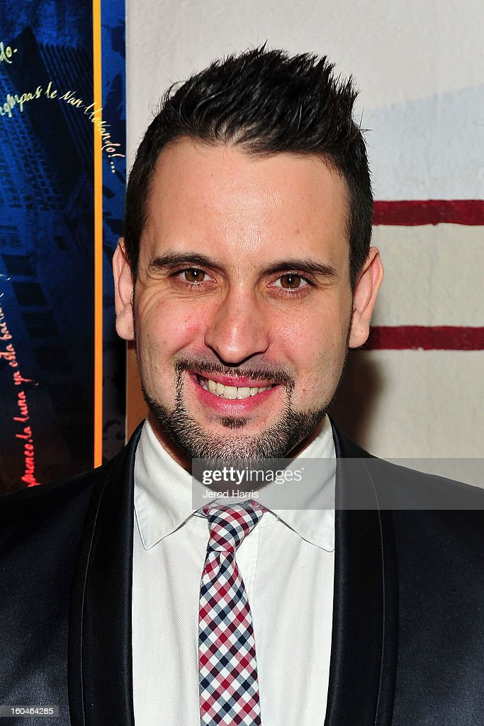 Flamenco dancer Manuel Gutierrez arrives at the premiere of 'Kumpania: Flemenco Los Angeles' at El Cid on January 31, 2013 in Los Angeles, California.