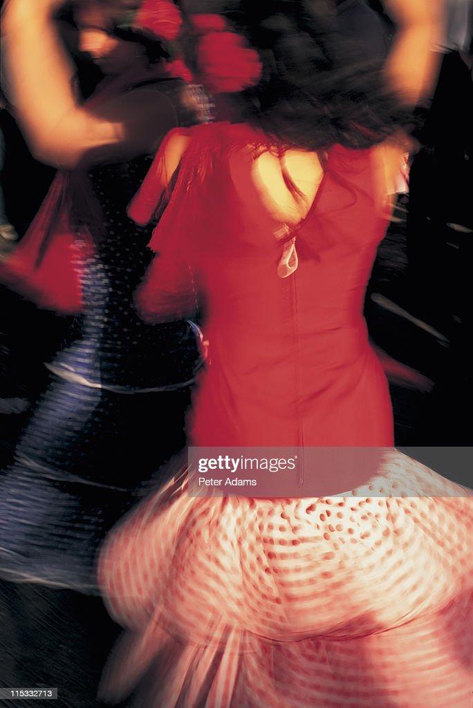 Flamenco Dancers, Spain : Stock Photo