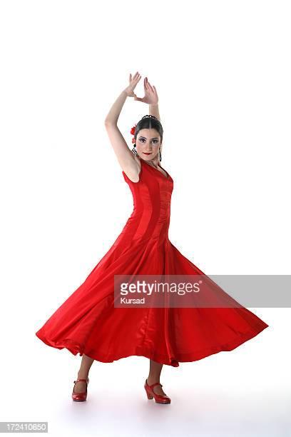 flamenco-Frau
