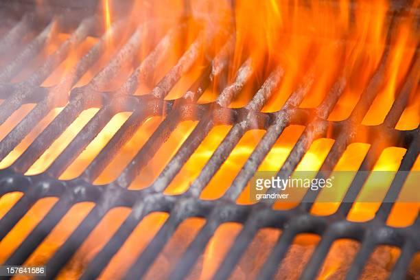 Flaming Barbecue avec aucun repas