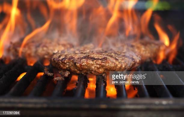 Flaming Burger