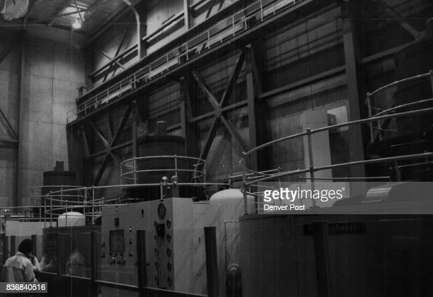 Flaming Gorge Reservoir Three 36000kilowatt generators such as these produce enough electrical power for 66000 persons Sale of the power helps to pay...
