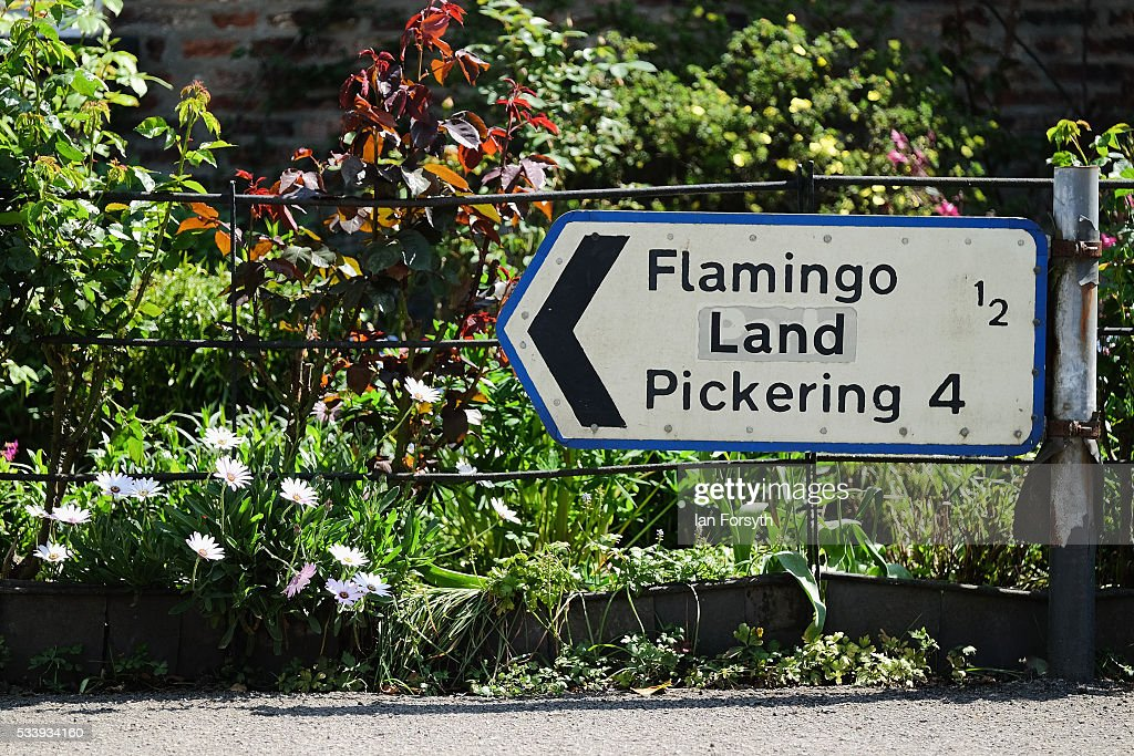 Flamingo Land theme park is situated close to the village of Kirby Misperton on May 24, 2016 in Malton, England. North Yorkshire Planning and Regulatory Committee voted seven to four in favour of a planning application submitted by Third Energy to conduct fracking at the KM8 drilling site near the village. Hydraulic Fracturing, or fracking, is a technique designed to recover gas and oil from shale rock.