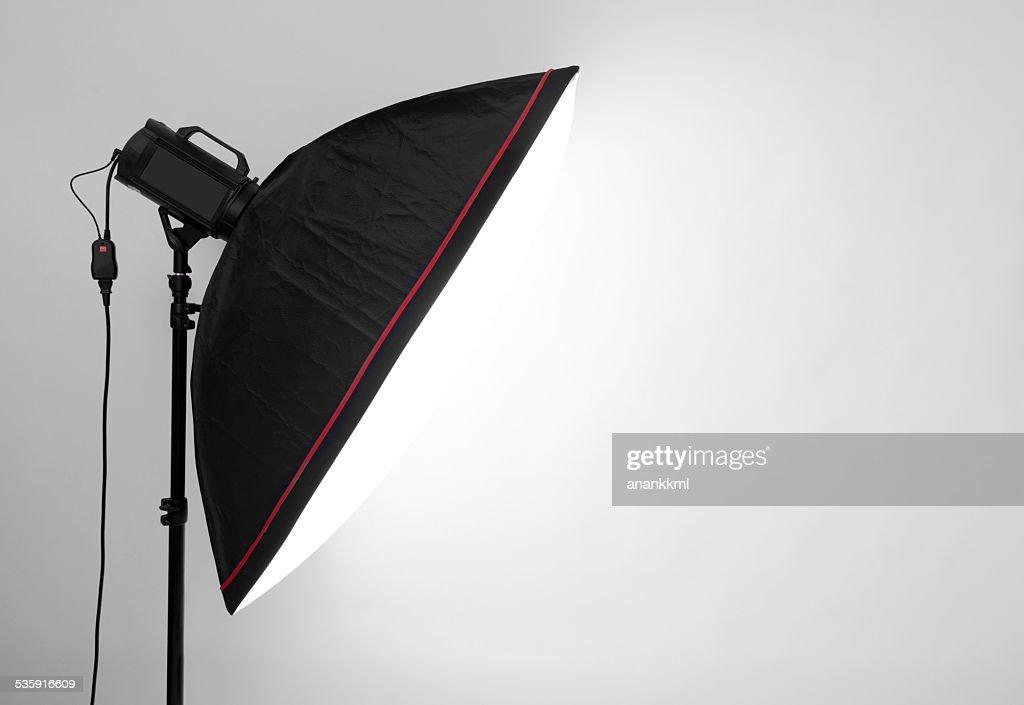 Luz de flash : Foto de stock