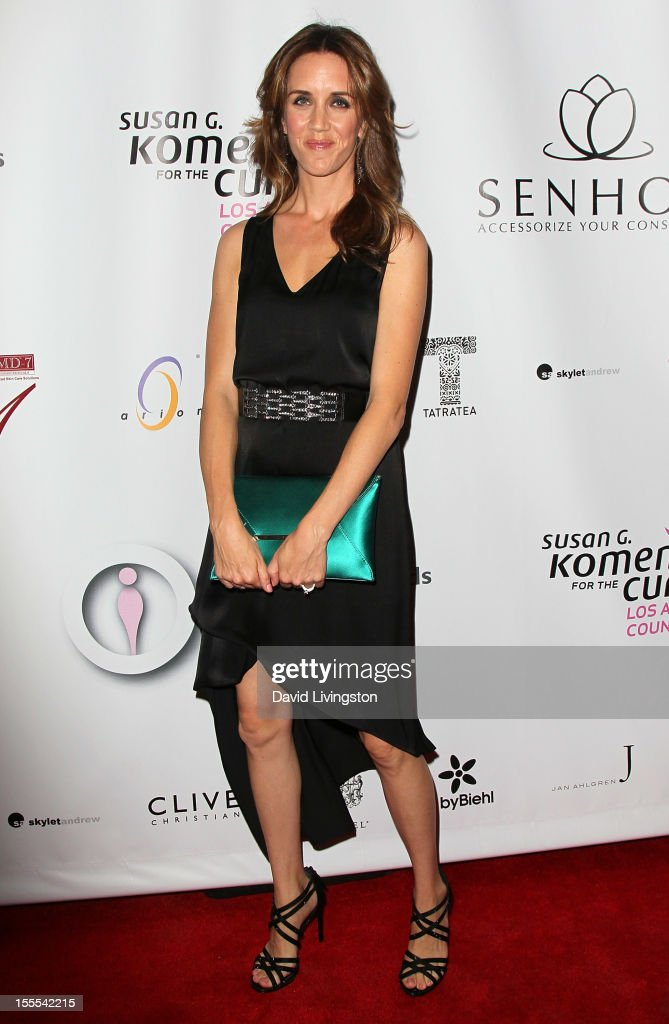 Flash mob dancer Staci Lawrence attends the 2nd Annual Inspiration Awards to benefit The Susan G. Komen For The Cure at Royce Hall, UCLA on November 4, 2012 in Westwood, California.