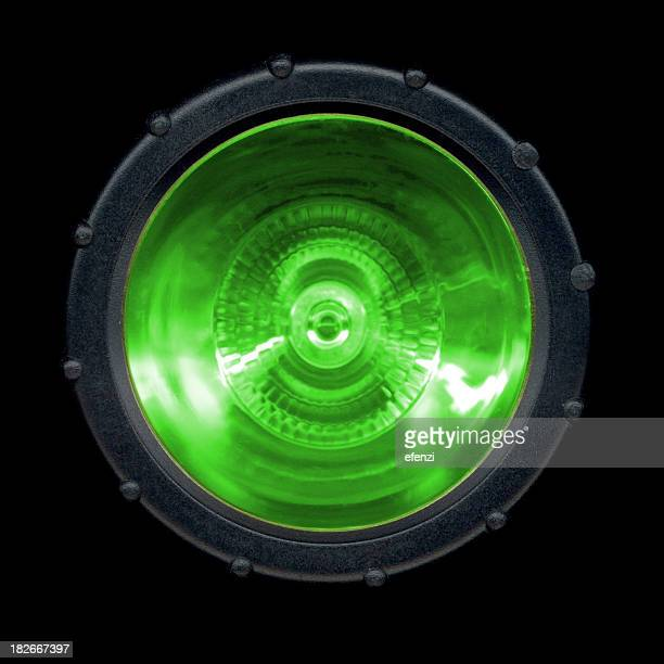 Flash-light: GREEN