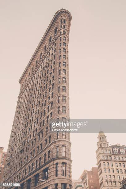 Flat iron building in New York