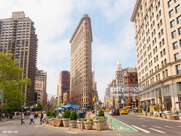 Flat Iron building, New York, USA