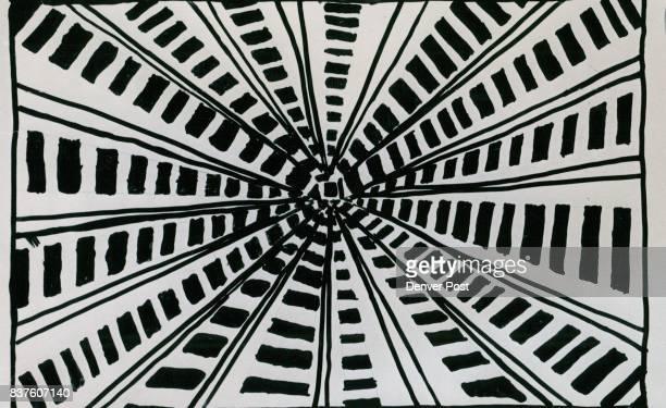 APR 9 1970 APR 23 1970 'B Flat Major' A black and white nonobjective interpretation by Tammie Braunreiter Schenck Credit Denver Post