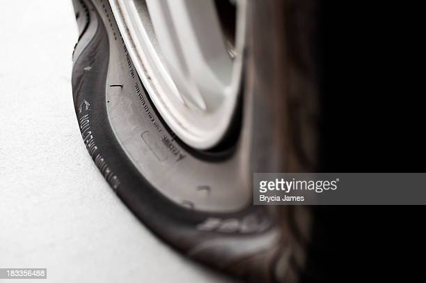 Flat Tire Close-up