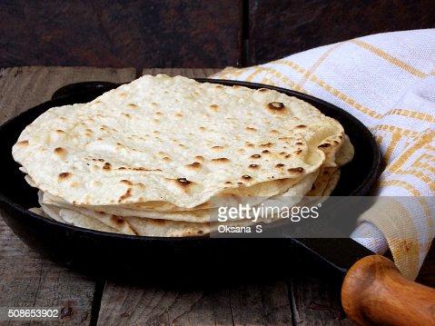 flatbread : Stock Photo