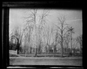 unidentified house among bare trees New York New York late 19th or early 20th century