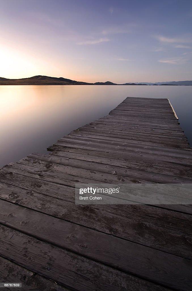 Flathead Lake , Montana