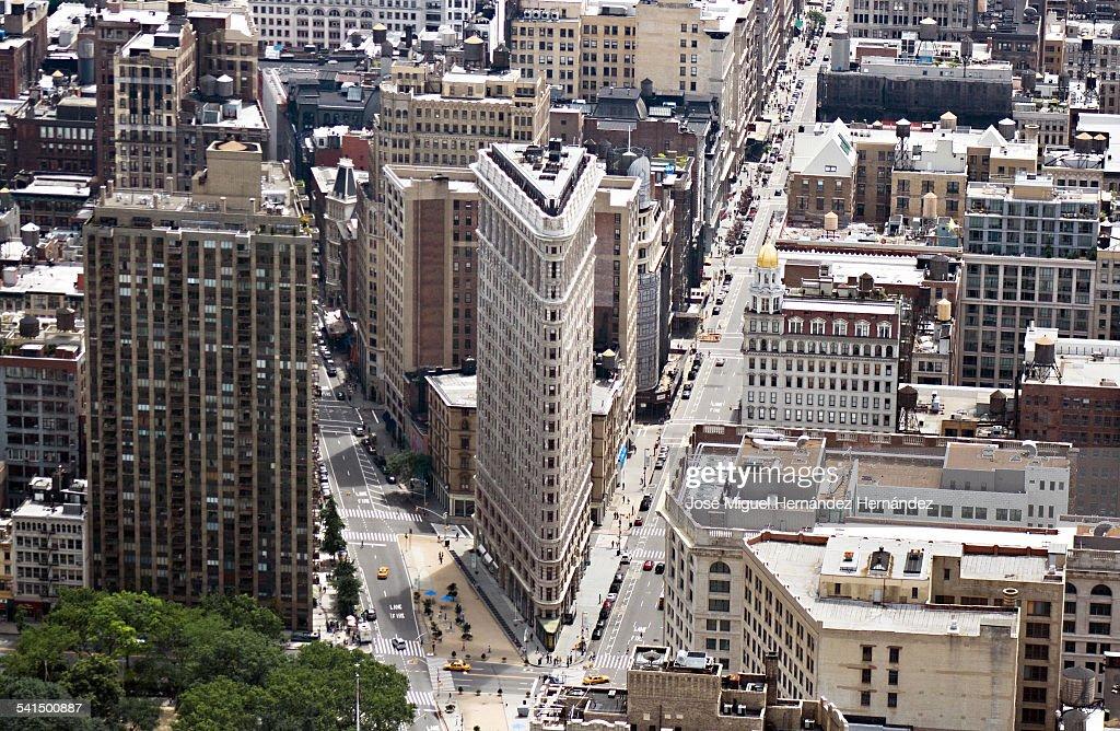 Flatiron Building, Manhattan, New York City, USA