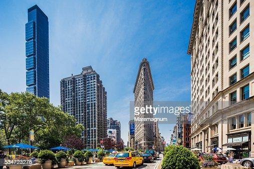 Flatiron District, view near Flatiron Building