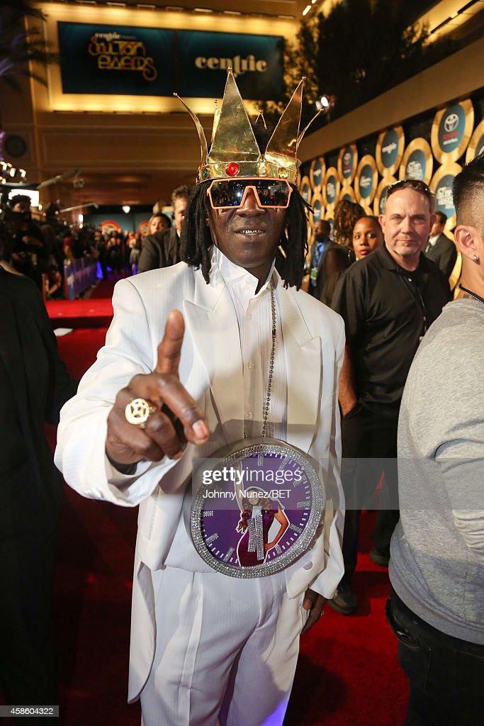 Flava Flav attends 2014 Soul Train Music Awards on November 7, 2014 in Las Vegas, Nevada.